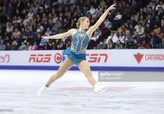 Alaine Chartrand of Canada competes in the Women's Singles Free Program during day two of the 2016 Skate Canada International at Hershey Centre on October 29, 2016 in Mississauga, Canada.