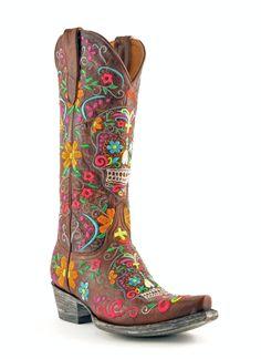 L1300-10 | Allens Boots | Women's Old Gringo Klak Boots