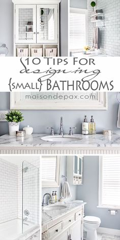 Tips for Designing a Small Bathroom I love this bathroom! Gorgeous finishes and brilliant ideas for space-efficient solutions at I love this bathroom! Gorgeous finishes and brilliant ideas for space-efficient solutions at Bathroom Renos, Bathroom Renovations, Home Remodeling, Bathroom Ideas, Gold Bathroom, Bathroom Green, Bathroom Layout, Bathroom Designs, Mosaic Bathroom