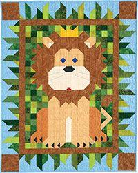 Regal Patch Crib Quilt Kit http://www.quiltandsewshop.com/product/regal-patch-crib-quilt-kit/quilting-kits-quiltmaker-kits