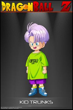 Dragon Ball Z - Kid Trunks SO by DBCProject on DeviantArt