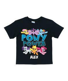 My Little Pony 'Pony Power' Personalized Tee - Toddler & Girls