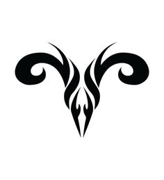 Aries Sign..... Getting this on back of my neck after my bob cut!  Aries Rule!
