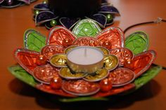 """Mit den Kapseln von """"Special T"""" gelingen auch schöne dekorative Teelichter"""