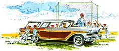 Plan59 :: Woodies :: 1950s Station Wagons :: 1957 Mercury Colony Park