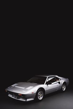 Ferrari 308 GTB symmetric powerful  muscle car