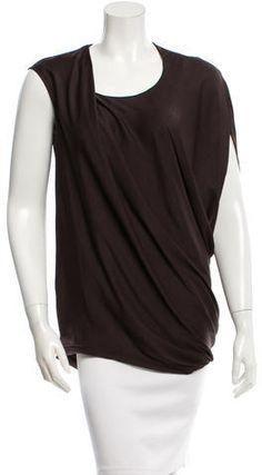 Helmut Lang Oversized Asymmetrical Top w/ Tags Asymmetrical Tops, Helmut Lang, Just For You, Tags, Stylish, Blouse, Clothing, Women, Fashion