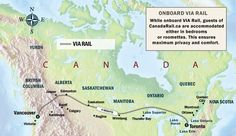 TransCanada Rail Express (eastbound) | Canada Rail Vacations -  It costs too much but this would be pretty great.