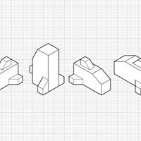 creating orthographic projection from an isometric view youtube orthogonal pinterest the. Black Bedroom Furniture Sets. Home Design Ideas