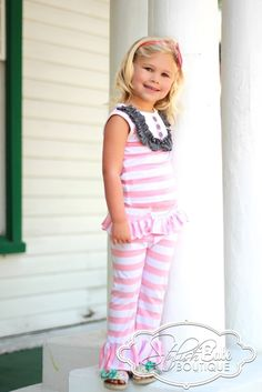 One of our little beauties wearing the Pink Lemonade at our Stylish Babe fashion in the Boca Raton Children's Museum. $66.00 www.stylishbabeboutique.com