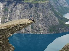 Gotta get to the Skandanavian coutries someday.  This is in Odda, Norway, the Troll's Tongue.