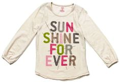 taylor graphic t - sunshine forever