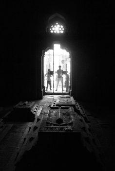 Inside Mubarak Shah's Tomb. Kotla Mubarakpur. South Delhi
