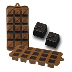 Chocolate o bombón Geo Chocolates, Cooking, Art, Chocolate, Brown