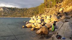 6 hour paddle= private camping spot