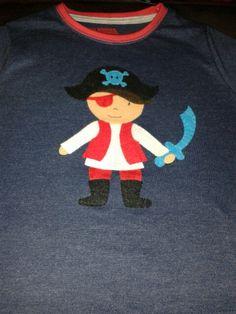 Pirata Camiseta aplicación