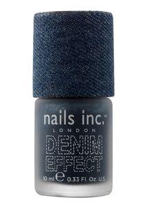 Bermondsey Denim Polish, Nails inc