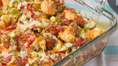 Make and share this Loaded Potato and Buffalo Chicken Casserole recipe from Genius Kitchen.