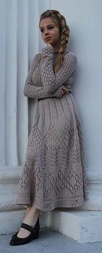 knit dress - Jarmarka Masterov
