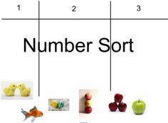 Number Sort www.smartboardideas.com