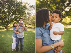 Family photo session in Green Spring Gardens VA