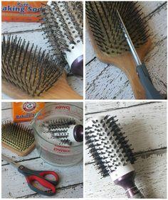 Avec cette astuce, quelques minutes suffiront pour laver à fond une brosse à cheveux! - Trucs et Astuces - Des trucs et des astuces pour améliorer votre vie de tous les jours - Trucs et Bricolages - Fallait y penser !