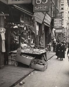 Lower East Side, NYC, 1930.