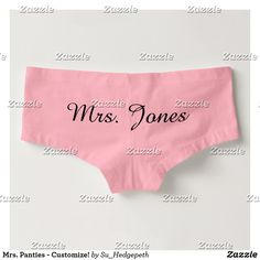 Mrs. Panties - Customize!