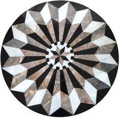 Marble Medallion M037 Marble Art, Marble Mosaic, Marble Floor, Stone Mosaic, Mosaic Tiles, Floor Patterns, Tile Patterns, Unique Man Cave Ideas, Foyer Flooring