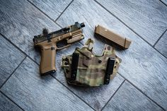 "Multicam for Days! Our ""Wingman"" with Multicam Print wrapped in Multicam Cordura! Matches nicely with the @dynamicweaponsolutions Slide and…"