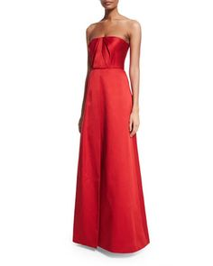 Strapless Draped Ball Gown by Jason Wu at Neiman Marcus.