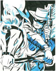 Lone Ranger by Darwyn Cooke comic book genres Comic Book Artists, Comic Book Characters, Comic Book Heroes, Comic Artist, Comic Character, Comic Books Art, Western Comics, Western Art, Jean Giraud