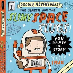 I'm excited to announce something I've been working on with @workmanpub. DOODLE ADVENTURES: The Search for the Slimy Space Slugs!  More info soon #thedoodleadventures by mikelowerystudio