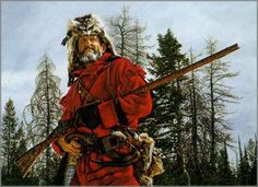 Paul Calle - The Mountain Man: ART