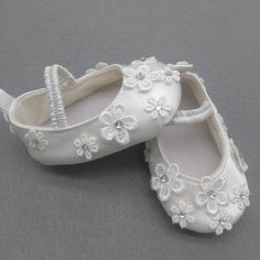 >> Click to Buy << Custom 100 Days/1st Birthday Newborn Princess Baby Gilrs Christening White Embroidery Soft Soled Flower Elegant Infant Prewalker #Affiliate