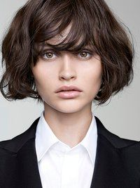 Pictures : Cute Ways to Cut Your Bangs - Layered Bangs On Short Shag Haircut