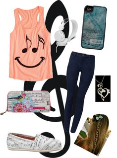 """""""music is my life"""" by haylie4000 ❤ liked on Polyvore"""