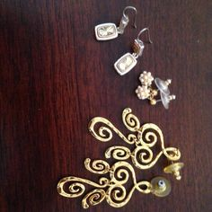 I just listed Three gold earrings ($9) on Mercari! Come check it out! http://item.mercariapp.com/gl/m979236850