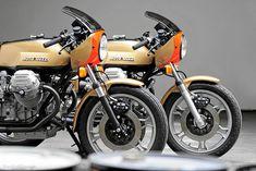 Moto Guzzi - Photo from Motorradonline #motorcycles #caferacer #motos | caferacerpasion.com