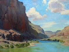 River of Color by Bill Cramer Oil ~ 30 x 40