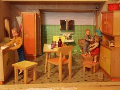 1959 Bodo Hennig Küche by diepuppenstubensammlerin, via Flickr