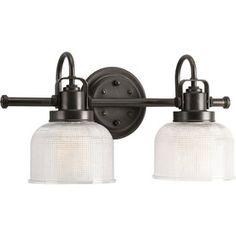 2-Light bathroom vanity @ Lowes