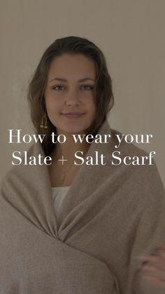 Fair Trade Fashion, Loom Weaving, Cashmere Scarf, Fashion Photography, How To Wear, Style, Swag, Loom, Fair Trade