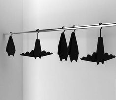 If you're a Batman fan, you'll love the Bat Hanger. It's a sophisticated, superhero clothes hanger design inspired by Batman. They'll transform your closet. Sweet Home, Goth Home Decor, Gothic House, Gothic Mansion, Haunted Mansion, Coat Hanger, Home And Deco, Home Decor Accessories, My Dream Home