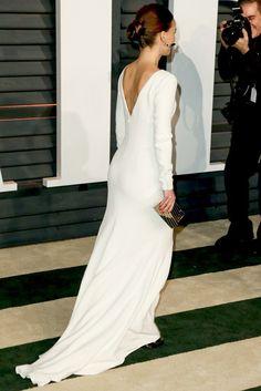 Best Look: Natalie Portman w białej sukni Diora