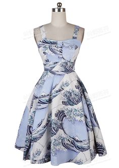 >> Click to Buy << 0172-1950s pinup Hepburn Audrey retro vintage rockabilly Classy halter dress in sea weave #Affiliate