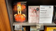 At no. 7 in the Waterstones chart in Grimsby. :-)