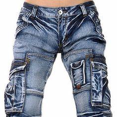 Jeansian Mens Designer Jeans Pants Denim Pocket Stylish W30 32 34 36 38 L32 J005