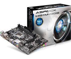 Дънна платка ASRock H81M-DGS (H81M-DGS) - цена и характеристики | Plasico IT Superstore