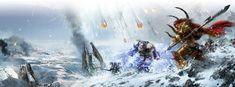 asaheim battle chaos daemon_prince drop_pod imperium landscape magnus_the_red…